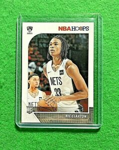 NIC-CLAXTON-ROOKIE-HOOPS-CARD-BROOKLYN-NETS-RC-2019-20-NBA-HOOPS-BASKETBALL-RC
