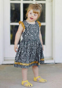 Matilda Jane Joanna Gaines Where The Heart Is Dress NWT In Bag Size 6 8 10 Gray