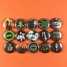 "Type O Negative 1"" PIN BUTTON lot Peter Steele Goth Punk Metal"