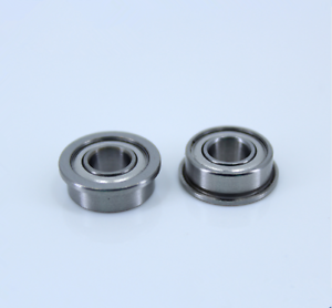 F6800ZZ 10x19x5mm Miniature Metal Bearing Flanged Ball Bearing 10 PCS