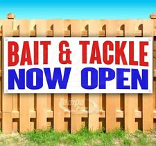 Bait Amp Tackle Now Open Advertising Vinyl Banner Flag Sign Many Sizes