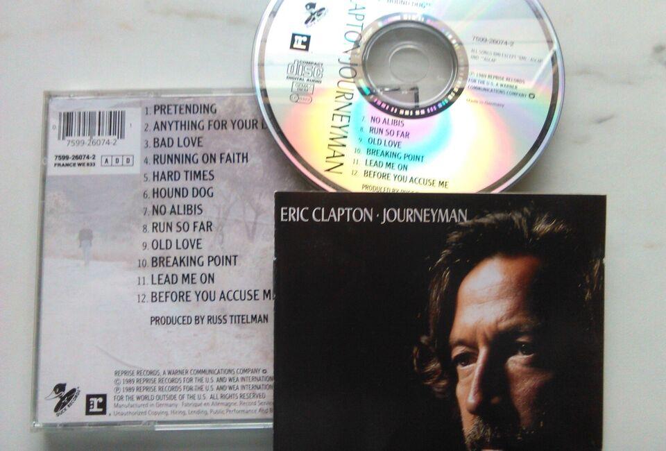 Eric Clapton: 5 CD'er Stk. 22 kr. - Alle 100 kr., rock