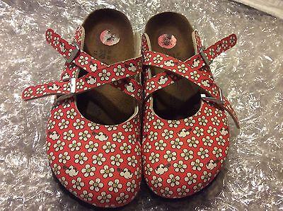 Birki's by Birkenstock DORIAN RED FLOWER Minnie Sagoma degli Stati Uniti Da Donna 5N EU 36 | eBay