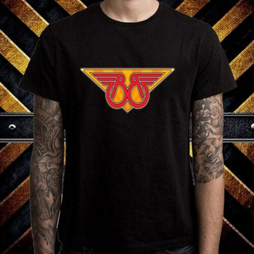 Buckaroo Banzai Logo Men/'s Black T-Shirt Size S to 3XL