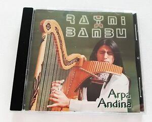 Raymi-Bambu-Arpa-Andina-CD-10-Tracks-New-Jewel-Case