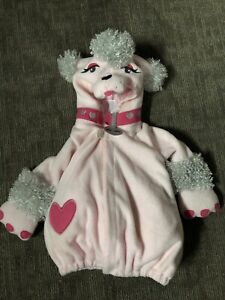 Old-Navy-Poodle-Costume-FiFi-pink-puppy-dog-baby-girls-fits-6-12-months-Jacket