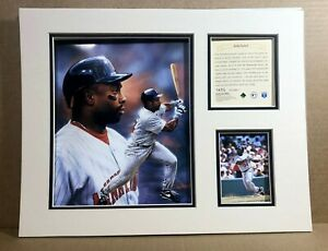 Minnesota Twins Kirby Puckett 1996 Baseball 11x14 MATTED Kelly Russell Print