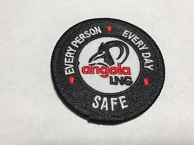 Angola LNG Soyo Liquified Natural Gas Plant Oil Every Person Day Safe Patch B