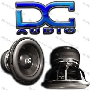 DC AUDIO Level 3 18 2 ohm Dual Voice Coil Subwoofer 900//1800 Watt