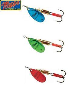 Mepps-Aglia-Platium-Spinner-Fishing-Lure-2-5-6-5g-Various-Colours
