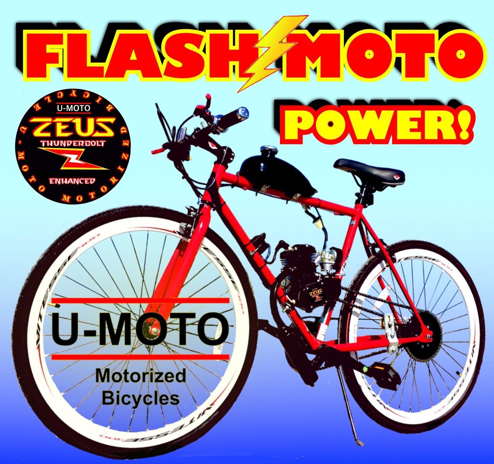 2-STROKE 66CC 80CC MOTORIZED BIKE ENGINE KIT WITH  26  BICYCLE