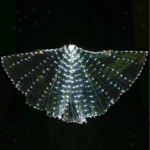 Kind Bauchtanz LED Isis Flügel Belly Dance Kostüm Butterfly Bauchtanzflügel