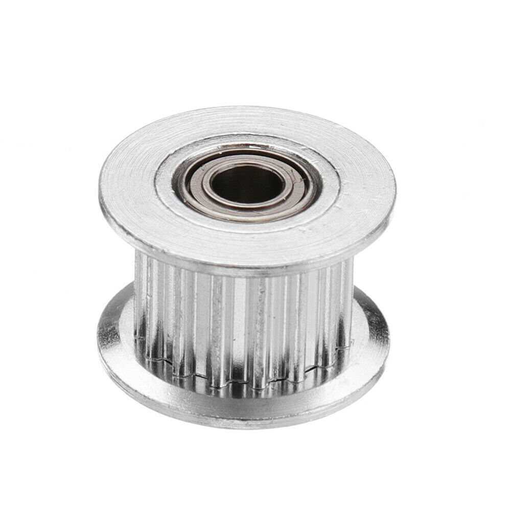 Timing Pulley With Tooth For DIY 3D Printer 3pcs 16T GT2 Aluminum