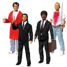 """Pulp Fiction 13"""" Explicit Talking Action Figures NEW Set Of Four"""