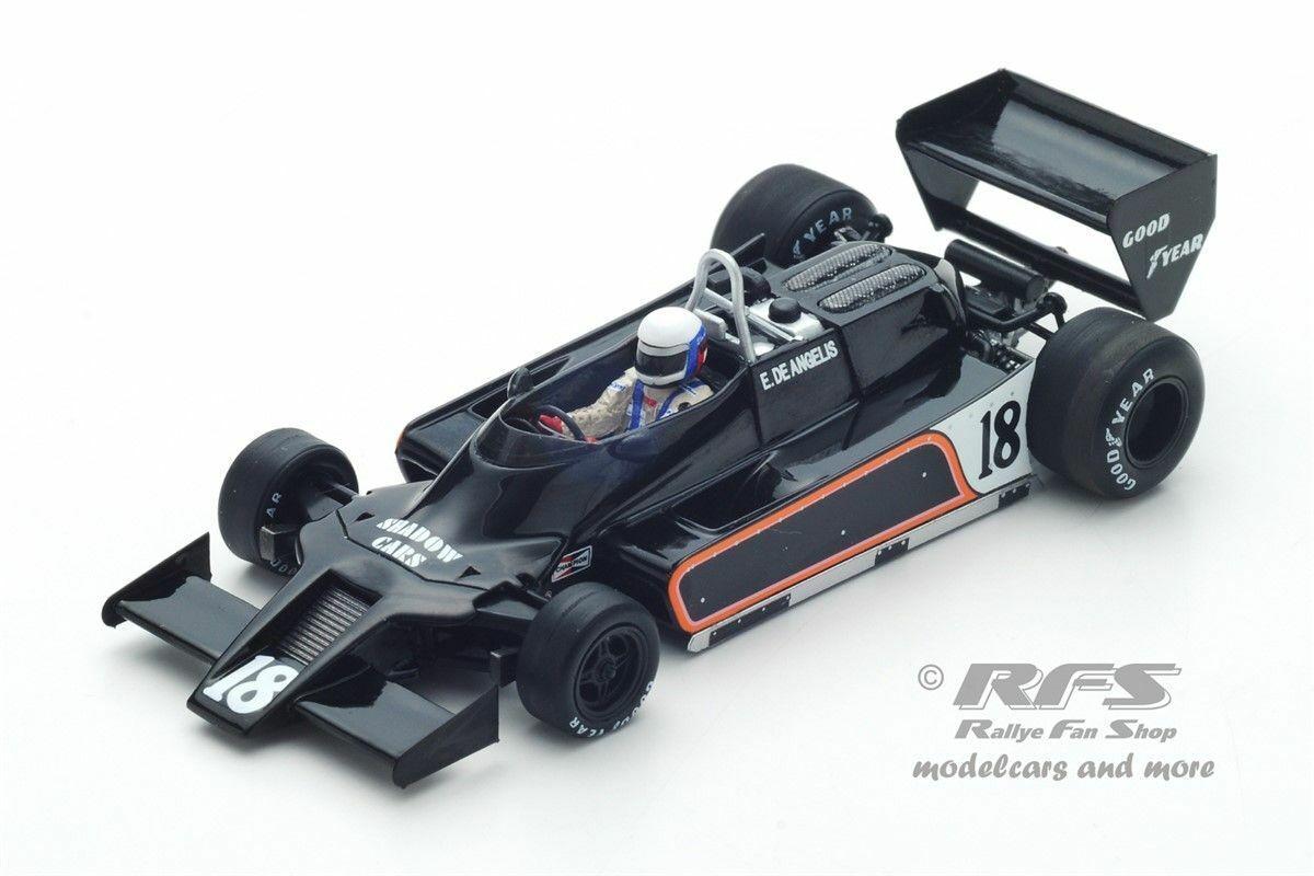 Shadow dn9 FORD Elio de Angelis Formule 1 Argentine 1979 1 43 Spark 7371 NEUF