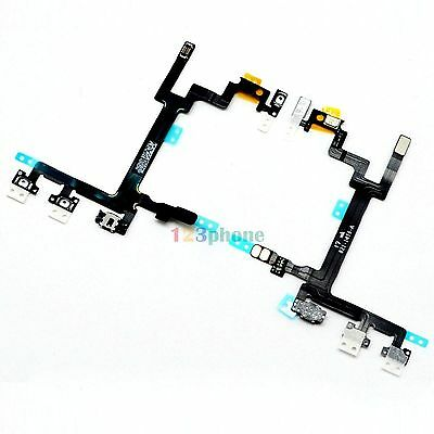 BRAND NEW POWER ON/ OFF VOLUME ADJUST FLEX CABLE RIBBON FOR IPHONE 5 #A-123