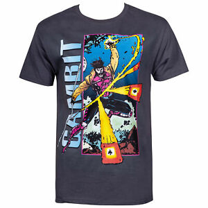 SUPERHERO X-MEN MOVIE CARD T Shirt GAMBIT