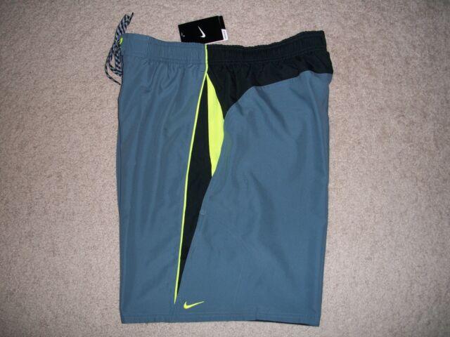 74d3376ede2c4 NWT Nike Men's Size XL Swim Sheds Water Shorts Trunks Inseam 9
