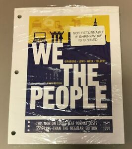 We The People By Benjamin Ginsberg New In Shrinkwrap Free Shipping 9th Edition 9780393124361 Ebay