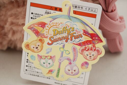 Tokyo Disney Sea ShellieMay Plush Pass Case Holder Duffy/'s Sunny Fun 2019 F//S