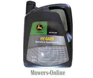 Details about John Deere Hy-Gard Transmission / Hydraulic Oil 5 Litres  VC81824-005 5L