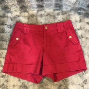 Banana-Republic-Martin-Fit-Women-039-s-Shorts-Pink-Size-2