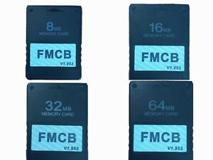 Details about McBoot 64MB Memory Card for PS2 FMCB Memory Card v1 953
