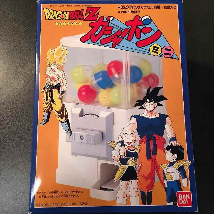 Dragon Ball Z Gashapon Mini Capsule 15 pieces entered Made in 1992 Vintage rare