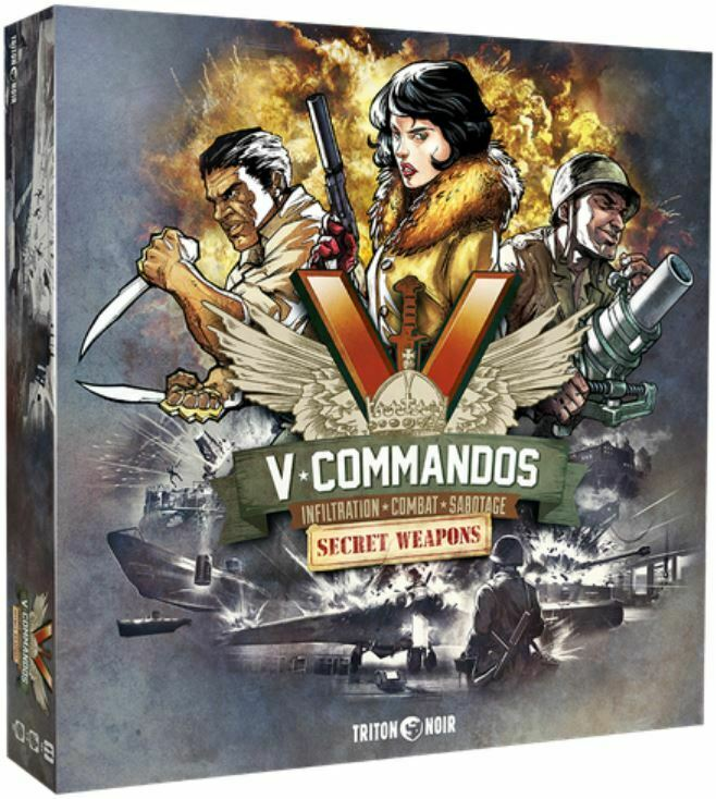 V-Commandos - Co-operative Board Game - Secret Weapons Expansion