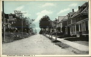 Walden-NY-Gladstone-Ave-Homes-c1910-Postcard