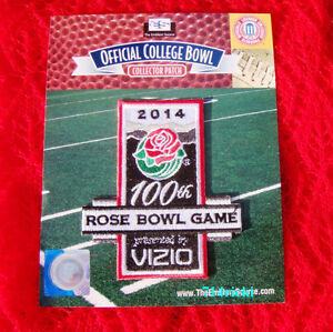 Official-2014-Vizio-100th-Anniversary-Rose-Bowl-Patch-Stanford-vs-MIchigan-State