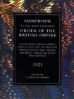 Handbook to the Most Excellent Order of the British Empire (1921) by A.Winton Thorpe (Paperback, 2002)