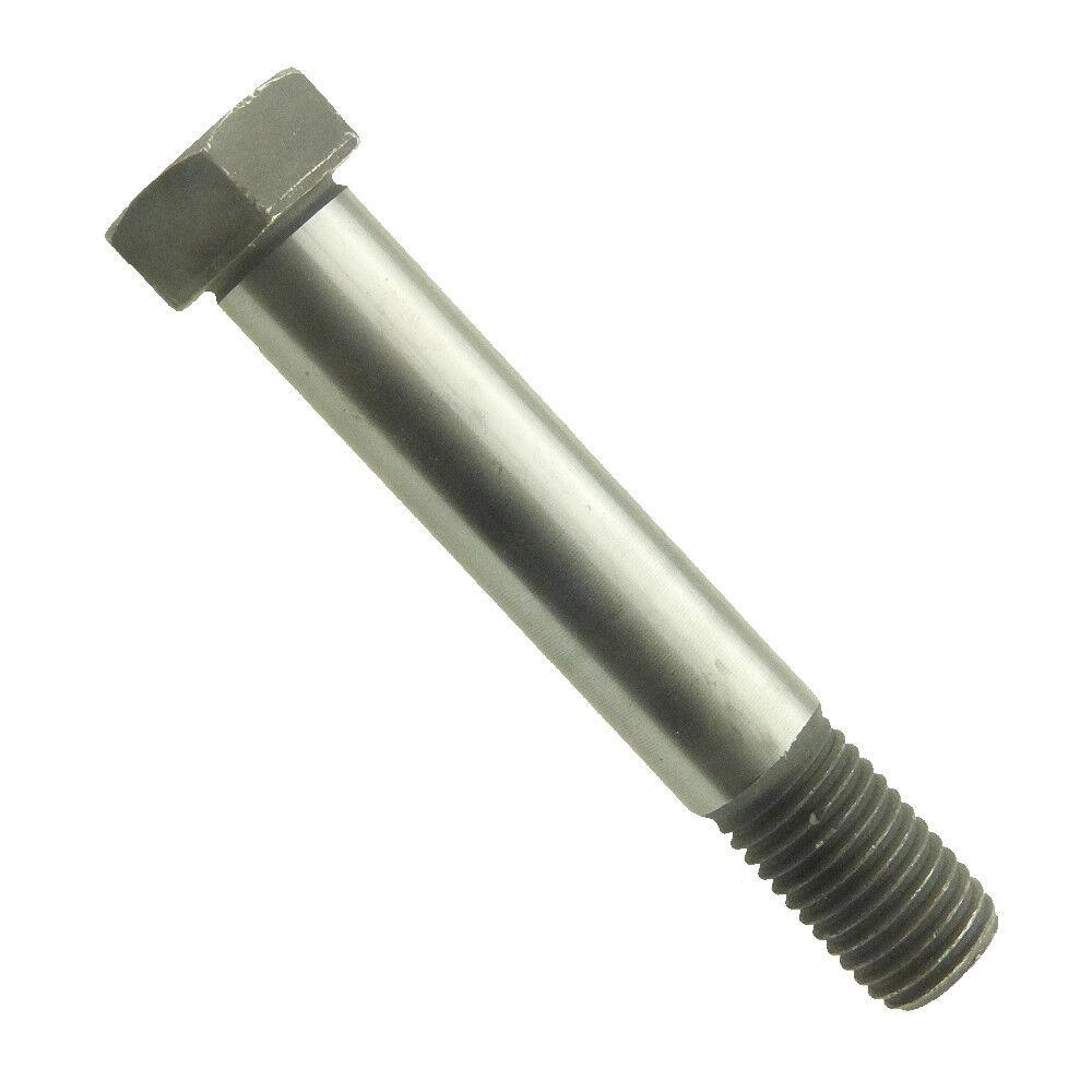 Sechskant-Passschrauben mit langem Gewindezapfen DIN 609 8.8 Stahl blank