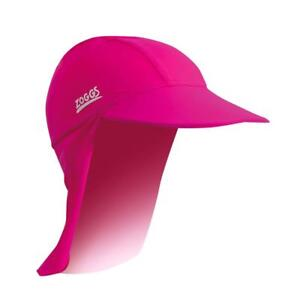 Zoggs-Sun-Protection-Hat-In-Navy-amp-Pink-Swimming-Hat-For-Kids-For-Pool-Swim