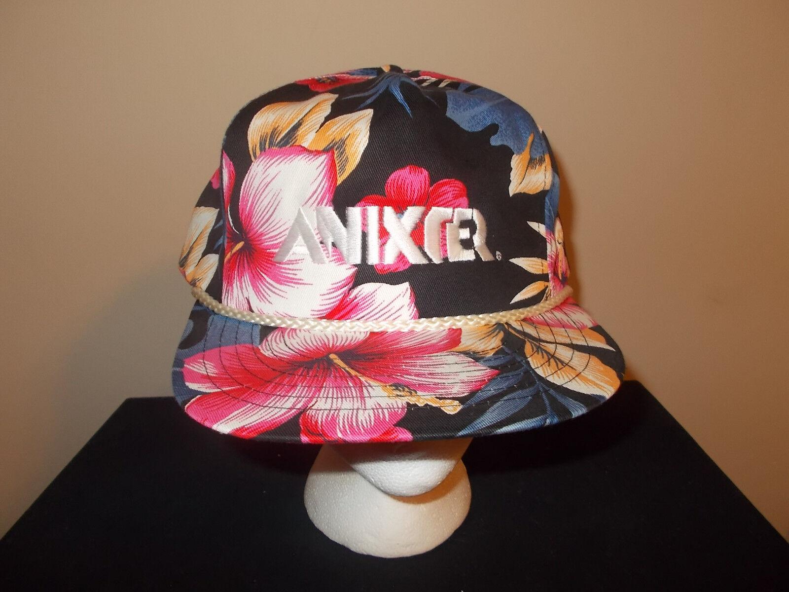 VTG-1990s Anixter supreme Hawaiian Flower Pattern Fresh Prince supreme Anixter style hat sku1 18ed4d
