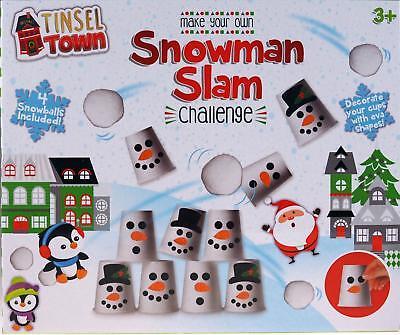 Pupazzo Di Neve Slam Challenge-prepara Il Tuo Natale Knock Em Per Gioco!-mostra Il Titolo Originale Fresco In Estate E Caldo In Inverno