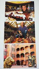 LOT de 3 Carte Postale NEUF Musée Miniature et Cinéma Maison Avocats Lyon France