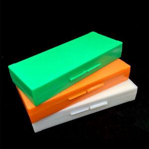 Lab-pathologique-diapositives-Boite-de-rangement-plastique-Microscope-Slides-Box-Holder-Case