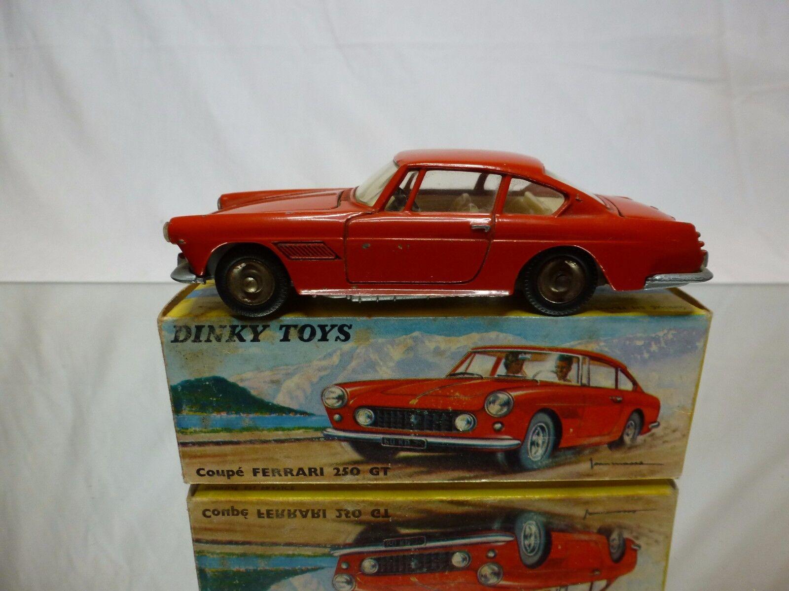 Schäbiges spielzeug 515 ferrari 250 gt pininfarina coupé - rot 1 43 - gut in der box