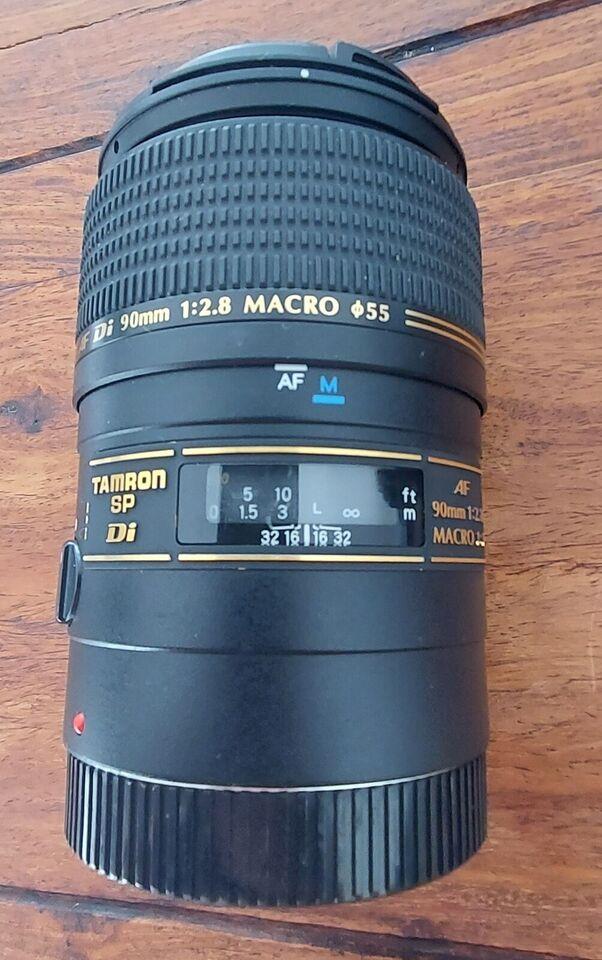 Macro portret, Tamron, 90 mm f 1:2.8 Canon