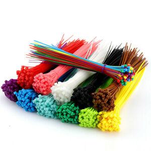 100Pcs-Self-Locking-Nylon-Plastic-Cable-Ties-Wrap-Wire-Cord-Zip-Tie-Strap-Tools