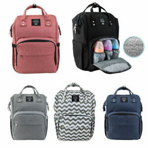LEQUEEN-Mummy-Maternity-Nappy-Diaper-Bag-Large-Capacity-Baby-Changing-Backpack