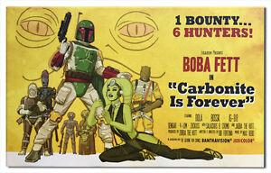 Star-Wars-Fett-Bounty-Hunter-Bond-Spy-Movie-Poster-Style-Artwork-Giclee-Canvas