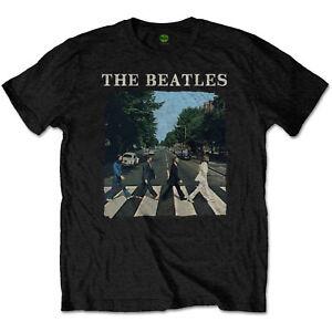 The-Beatles-Abbey-Road-amp-Logo-Official-Merchandise-T-Shirt-M-L-XL-Neu