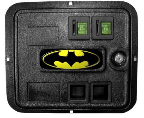 Batman Flipper Data East Moneta Porta Decalcomania Buono Per Succhietto Antipiretico E Per La Gola