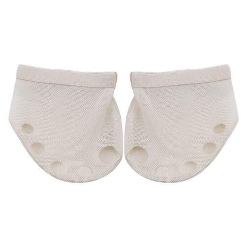 Bare Foot Thong Dance Paw Shoe Split Toe Half Sole Forefoot Soft Pad Cushion 6L
