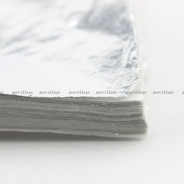 Silver Leaf Sheets 100 Leaves For Gilding Decoration Art Work Craft 14X14cm Fake