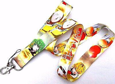 ONE PUNCH MAN LANYARD manga anime neck strap ID badge clip nametag Saitama Z1