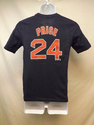 FäHig New-minor Fehler Boston Red Sox David Price Majestic Jugend M Marineblau Hemd Mit Traditionellen Methoden Weitere Ballsportarten Fanartikel
