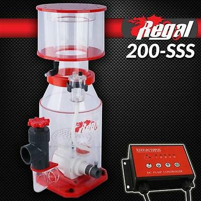 "REEF OCTOPUS REGAL 6"" SPACE SAVING SKIMMER WITH DC PUMP REGAL-200SSS MARINE"